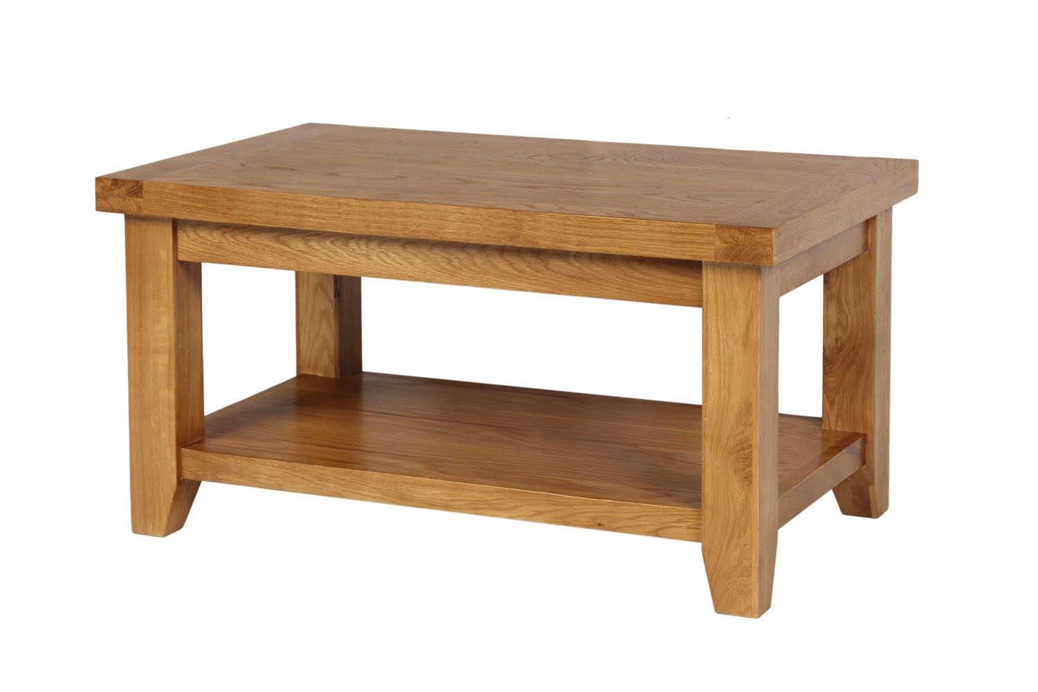 Country oak coffee table with shelf geotapseo Image collections
